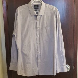 Dockers fitted dress shirt size 17 / 17 1/2